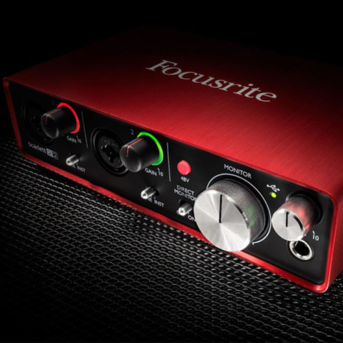FOCUSRITE - Scarlett 2i2 (2nd GENERATION) [FOCUSRITE 공식판매점]