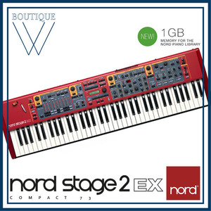 NORD STAGE 2 EX COMPACT [노드 스테이지 2 EX 컴팩트] 73 key Digital Stage Piano with Synth
