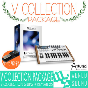 ARTURIA - V Collection 5 UPG + KEYLAB 25