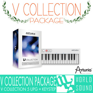 ARTURIA - V Collection 5 UPG + KEYSTEP