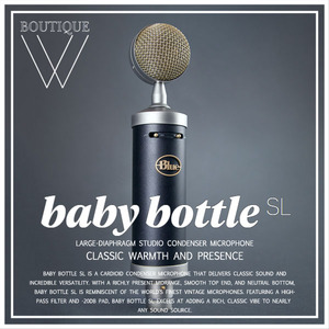 BLUE MICROPHONE - BABY BOTTLE SL [Blue Microphones 공식판매점]