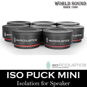 ISO ACOUSTICS - ISO-PUCK Mini (8EA) 스피커 방진패드